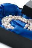 Bella collana della perla immagini stock libere da diritti
