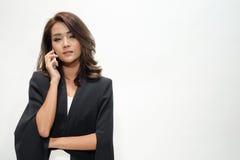 Bella condizione asiatica della donna del ritratto Immagine Stock Libera da Diritti
