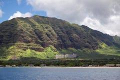 Bella costa hawaiana Immagini Stock Libere da Diritti