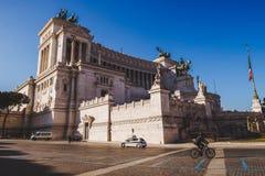 bella costruzione antica del della Patria (altare di Altare della patria) Fotografia Stock