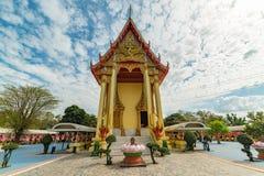 Bella costruzione buddista di architettura Fotografia Stock Libera da Diritti