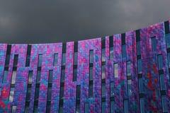 Bella costruzione coperta di tegoli Fotografia Stock Libera da Diritti