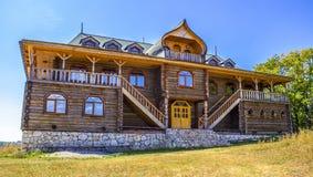 Bella costruzione di legno Fotografie Stock Libere da Diritti