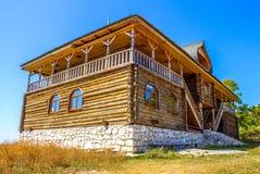 Bella costruzione di legno Immagini Stock Libere da Diritti