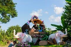 Bella cultura della Tailandia della donna Fotografia Stock