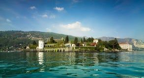 Bella de Isola, maggiore del lago, Italia Fotografía de archivo libre de regalías