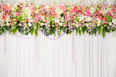 Bella decorazione di nozze del fiore Immagine Stock Libera da Diritti