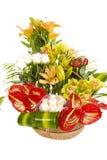 Bella disposizione di fiore Fotografie Stock Libere da Diritti