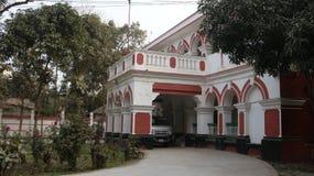 Bella dogana di Rangpur di vista della facciata frontale della costruzione, Rangpur fotografia stock