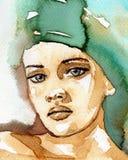 Bella donna illustrazione vettoriale