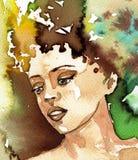 Bella donna royalty illustrazione gratis