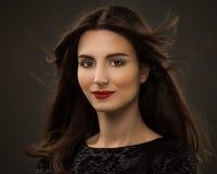 Bella donna affascinante Fotografie Stock