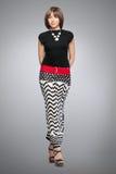Bella donna alla moda Immagine Stock