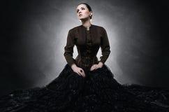 Bella donna alla moda Fotografie Stock