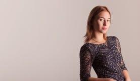 Bella donna alla moda Immagine Stock Libera da Diritti