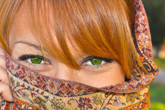 Bella donna araba magica fotografia stock libera da diritti
