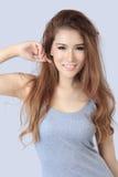 Bella donna asiatica Immagine Stock Libera da Diritti