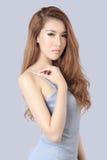 Bella donna asiatica Fotografie Stock Libere da Diritti