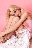 Bella donna attraente Fotografie Stock Libere da Diritti