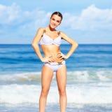 Bella donna in bikini Immagine Stock Libera da Diritti
