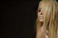 Bella donna bionda Immagine Stock Libera da Diritti
