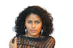 Bella donna brasiliana fotografia stock