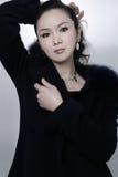 Bella donna cinese Immagini Stock Libere da Diritti