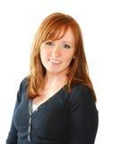 Bella donna dai capelli rossa fotografie stock libere da diritti