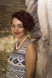 Bella donna dai capelli rossi Fotografia Stock Libera da Diritti
