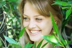 bella donna del ritratto Fotografia Stock Libera da Diritti