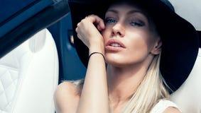 Bella donna delicata Fotografia Stock