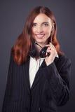 Bella donna di affari Immagini Stock Libere da Diritti