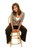 Bella donna di affari sulla st Fotografia Stock