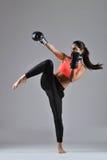 Bella donna di forma fisica Immagini Stock