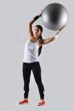 Bella donna di forma fisica Immagine Stock