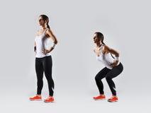 Bella donna di forma fisica Fotografia Stock Libera da Diritti