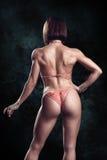 Bella donna di forma fisica Fotografia Stock