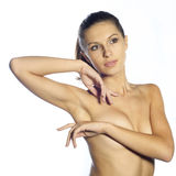 Bella donna nuda Fotografie Stock Libere da Diritti