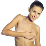 Bella donna nuda Immagini Stock