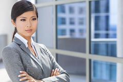 Bella donna o donna di affari cinese asiatica Immagini Stock