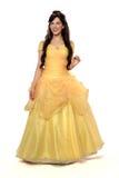Bella donna in principessa Costume Fotografia Stock Libera da Diritti
