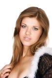 Bella donna scarna Fotografie Stock