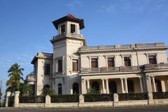 Bella e casa antica ripristinata a Miramar Immagini Stock Libere da Diritti