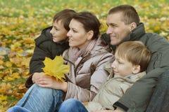 Bella famiglia felice Fotografie Stock