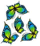 Bella farfalla Royalty Illustrazione gratis