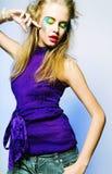 Bella femmina di dancing fotografia stock libera da diritti