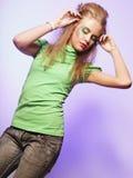 Bella femmina di dancing immagine stock libera da diritti