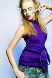 Bella femmina di dancing fotografie stock libere da diritti