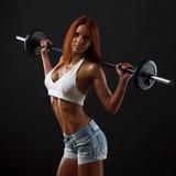 Bella femmina di forma fisica fotografia stock libera da diritti