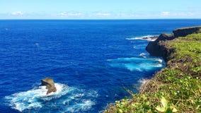 Bella festa sull'isola di Saipan La bella isola di Saipan Fotografie Stock